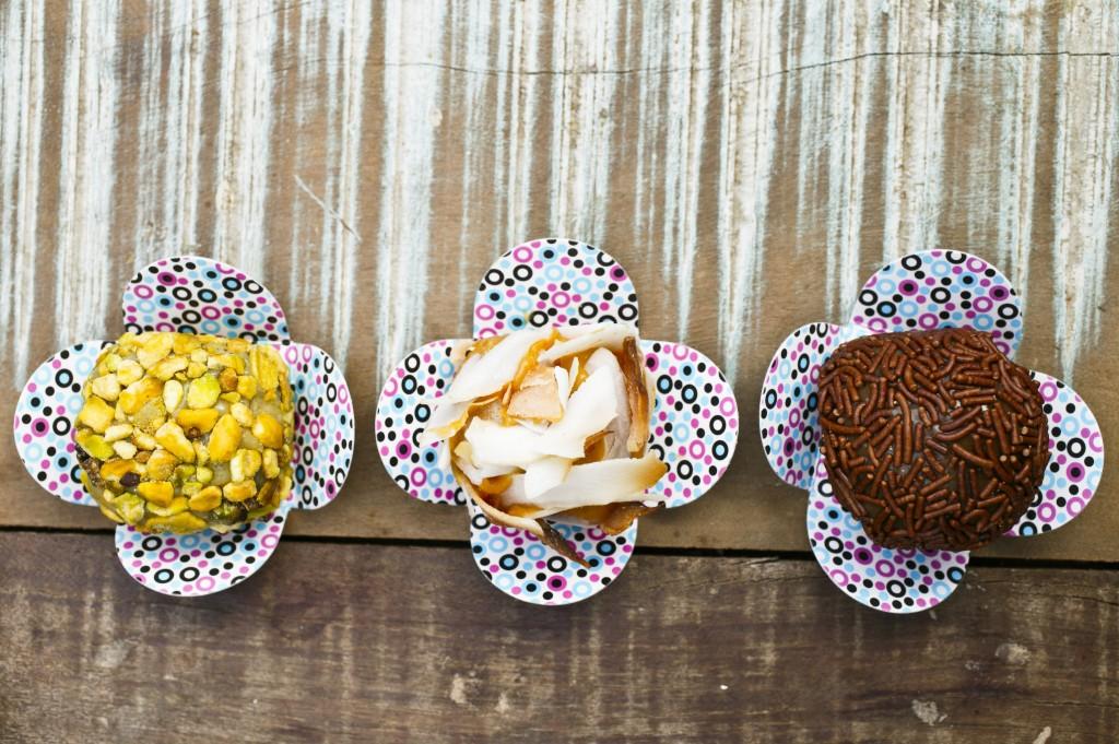 Docinhos da Brigadeiro Doceria & Café (Foto: Mario Rodrigues)