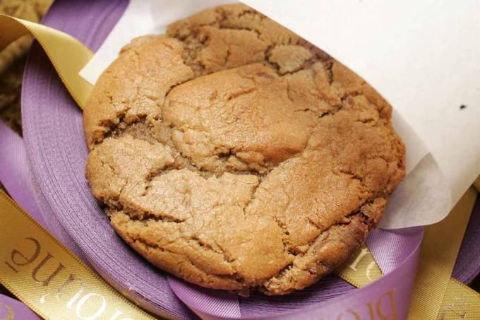 COMIDINHAS // Broune /  Cookie com gotas de chocolate ao leite