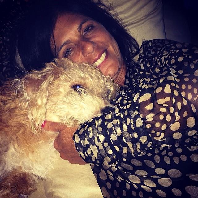 Esta é a mãe de Bruno Gagliasso em foto postada pelo ator no Instagram