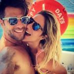 Com a mulher Giovanna Ewbank, Bruno Gagliasso não podia deixar de fazer uma selfie (Reprodução/Instagram)