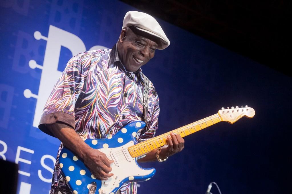 O guitarrista Buddy Guy durante apresentação no Best of Blues do ano passado (Divulgação)