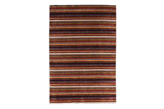 Tapete de lã e algodão (95 cm por 61 cm)