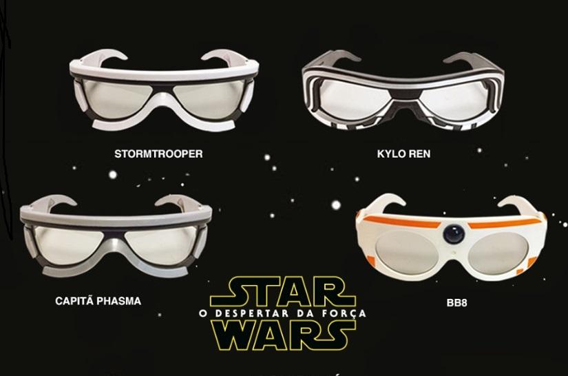 óculos Star Wars