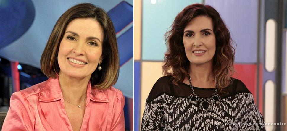 Cabelo - Fátima Bernardes - Antes e Depois