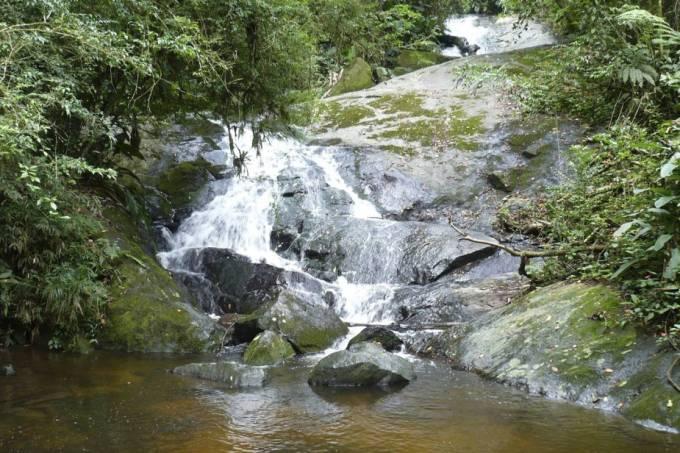 Cachoeira na Serra da Cantareira