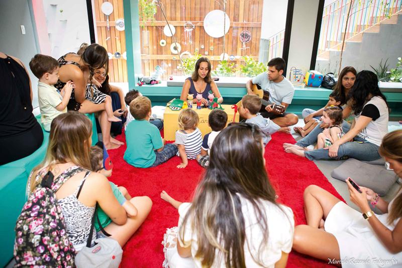 Cadê Bebê: o novo estabelecimento, no Itaim, oferece atrações culturais