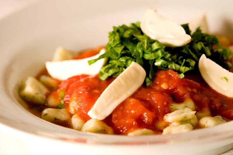 Nhoque de batata do Café Girondino: um dos destaques do cardápio