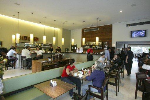 Salão do Café Raiz: o expresso mais barato da lista (Foto: Mario Rodrigues)