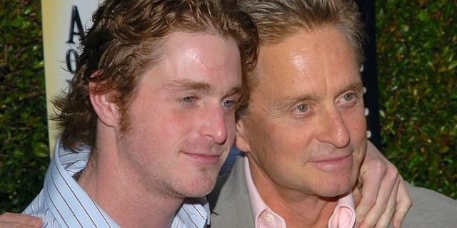Cameron Douglas e seu pai, Michael Douglas