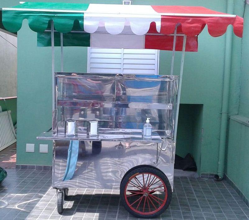 A Cannoleria móvel: pronta para ganhar as ruas (Foto: Alexandre Leggieri)