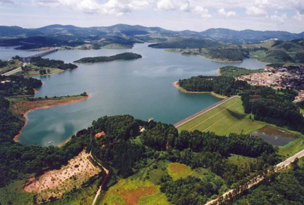 Sistema Cantareira (uma das represas)