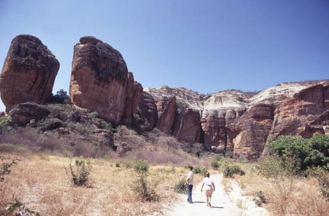 Canyon do Parque Nacional da Serra da Capivara