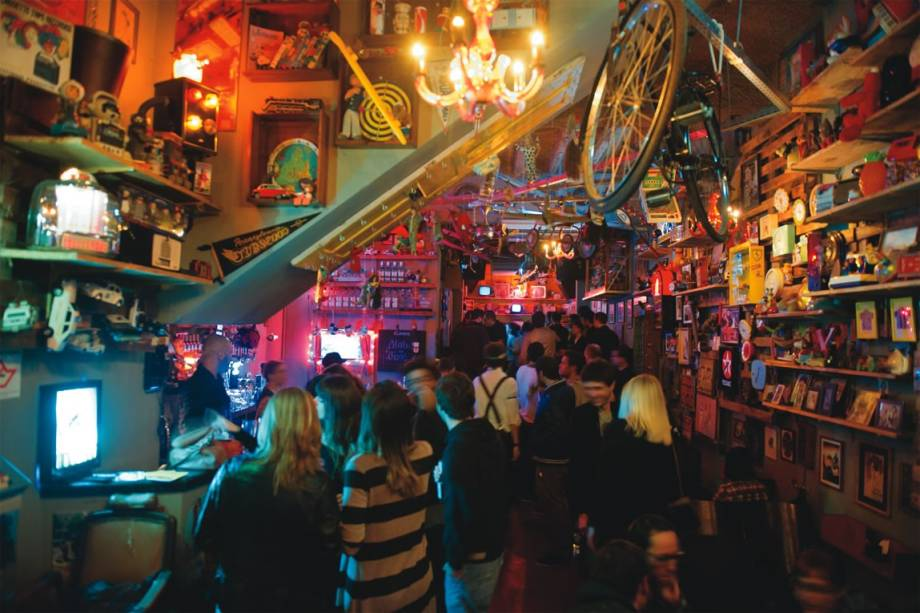 Caos: o bar-balada é uma das sedes do evento