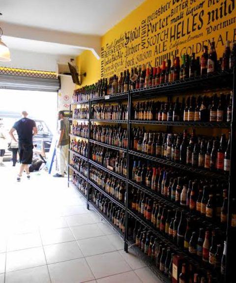 Capitão Barley: casa especializada em cervejas especiais e importadas