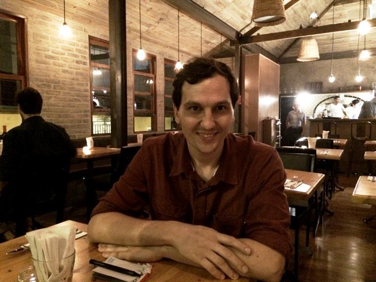 Nardelli: de chef do Riviera Bar a sócio da Carlos Pizza (Foto: Arnaldo Lorençato)