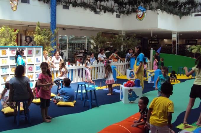Galinha Pintadinha no Shopping Interlagos