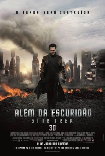 Além da Escuridão - Star Trek: pôster do filme