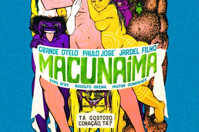 Cartaz de Macunaíma