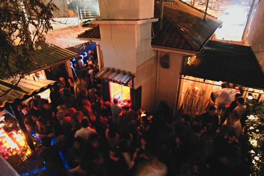 Casa 92, no Largo da Batata, em Pinheiros: pista a céu aberto