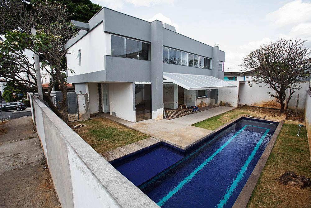 Casa de Haddad, no Planalto Paulista: avaliada em 2 milhões de reais (Foto: Leo Martins)