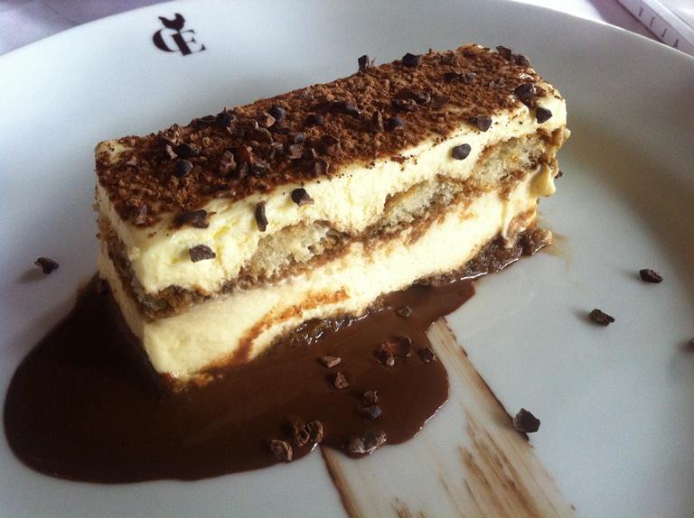 Tiramisu da Casa Europa: uma das melhores sobremesas que provei neste ano (Foto: Arnaldo Lorençato)