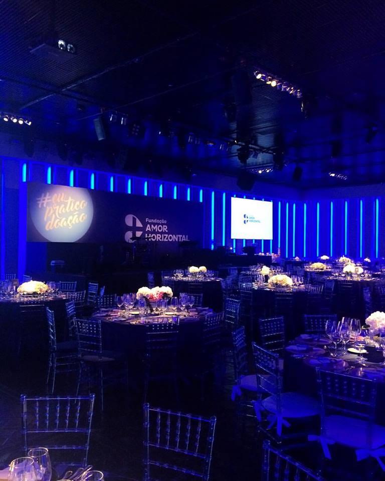 Salão da Casa Charlô no dia do evento (Foto: Reprodução/Facebook)