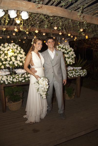 """""""Vou continuar usando o sobrenome Pugliesi"""", diz Gabriela que terminou um casamento de aproximadamente três anos com o personal trainner Thiago Pugliesi"""