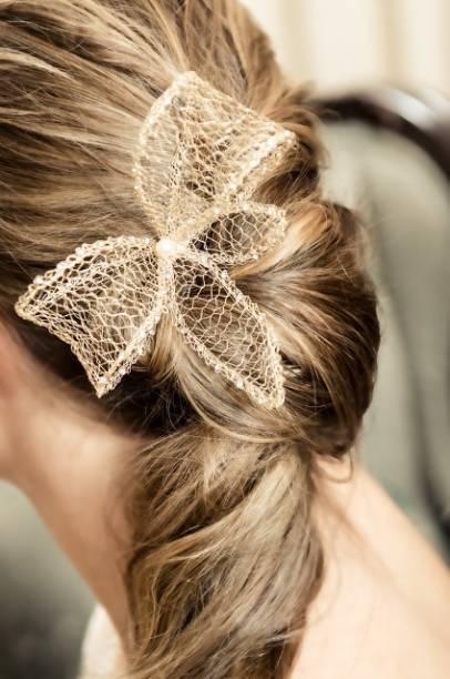 Acessório para o cabelo, da D. Cantidio