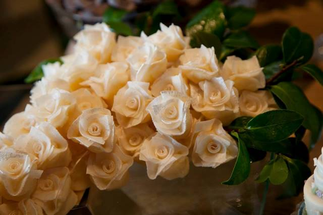 Buquê de flor de coco (pode ser comestível), da Louzieh Doces
