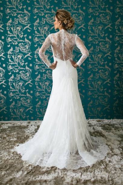 Vestido de noiva, Luciana Collet