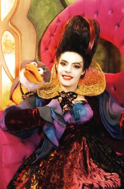 A atriz Rosi Campos como Morgana de Castelo Rá-Tim-Bum