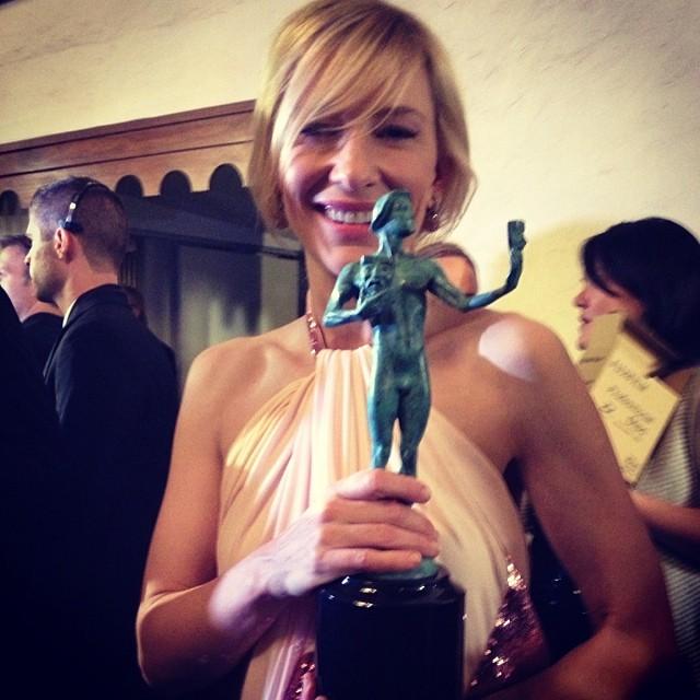 Cate Blanchett leva para casa mais um prêmio de melhor atriz