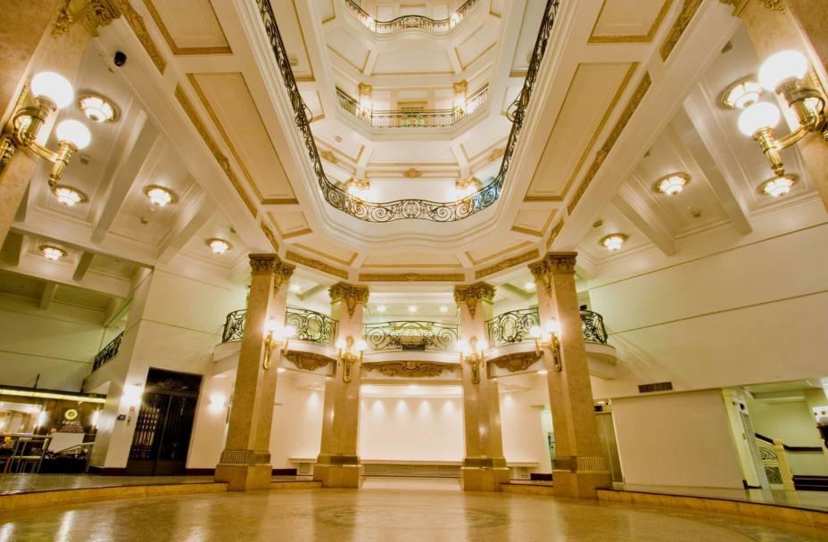 Por dentro do CCBB: prédio está situado na Rua Álvares Penteado, 112