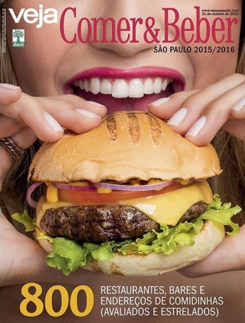 Capa da edição 2015-2016: de dar água na boca