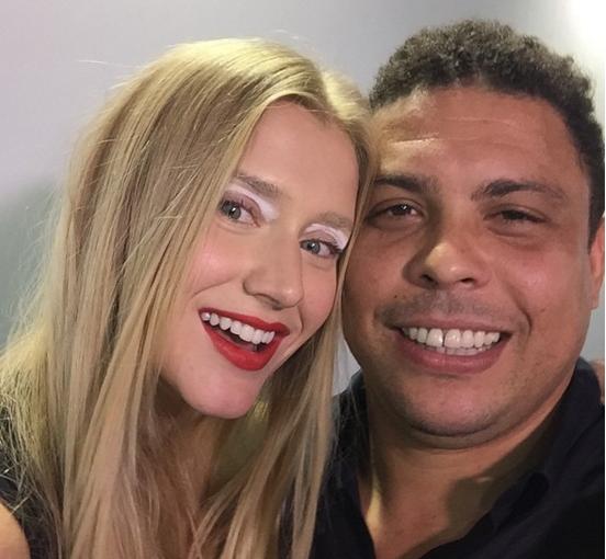 Celina e Ronaldo: noitada no imóvel de Miami (Foto: Reprodução/Instagram)