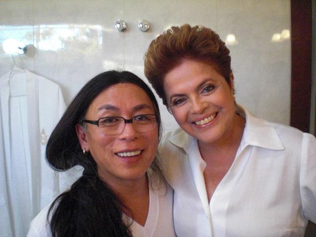 Kamura e Dilma: ele é amigo de Marta, que brigou com Dilma, que por sua vez não gosta de Marta... (Foto: Divulgação)