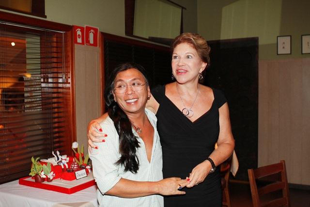 Celso Kamura e Marta Suplicy: amigos há mais de vinte anos (Foto: Rafael Cusato)