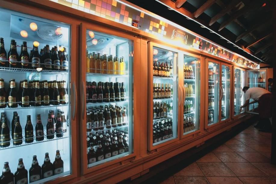 Supergeladeira: capacidade para refrigerar até 2.000 garrafas