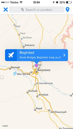 Change-Tinder-location-Baghdad-Iraq