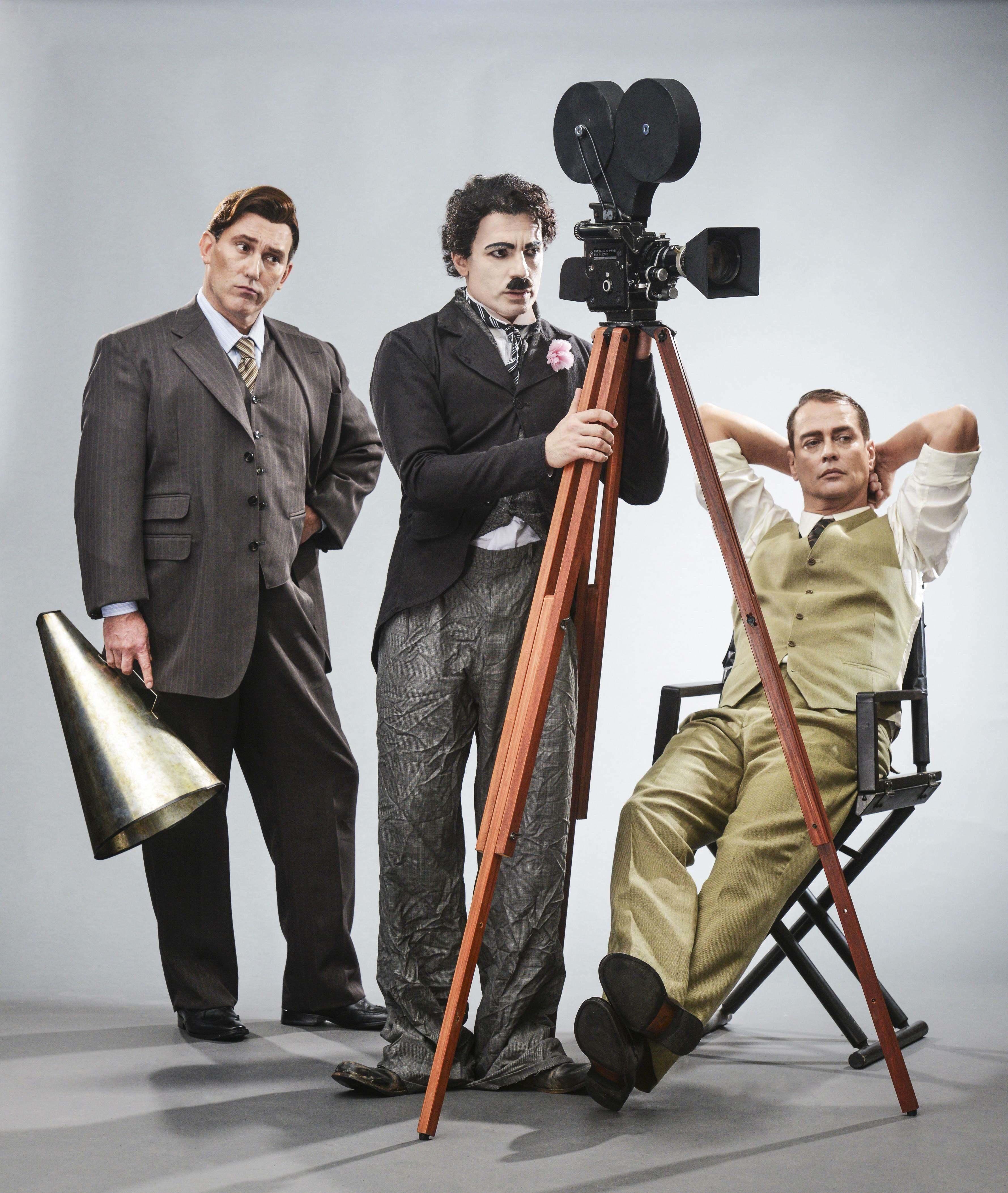 """""""Chaplin, o Musical"""": indicações para figurino, coreografia e cenografia (Foto: Páprica)"""