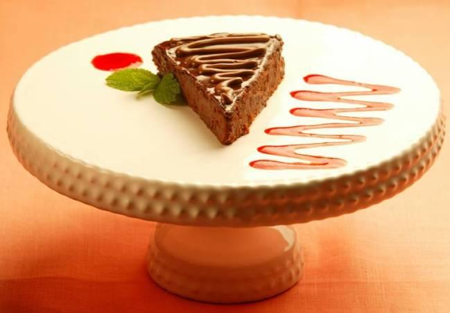 Gardênia - cheesecake de Nutella