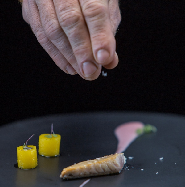 Receita brasileira: detalhes de uma das criações do chef