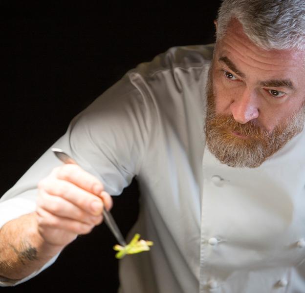 Construção de uma estética culinária: auxílio de pinças