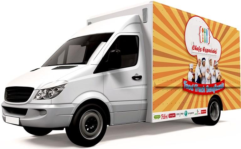 Food Truck do bem: a partir do meio-dia nos Chefs Especiais (Foto: divulgação)
