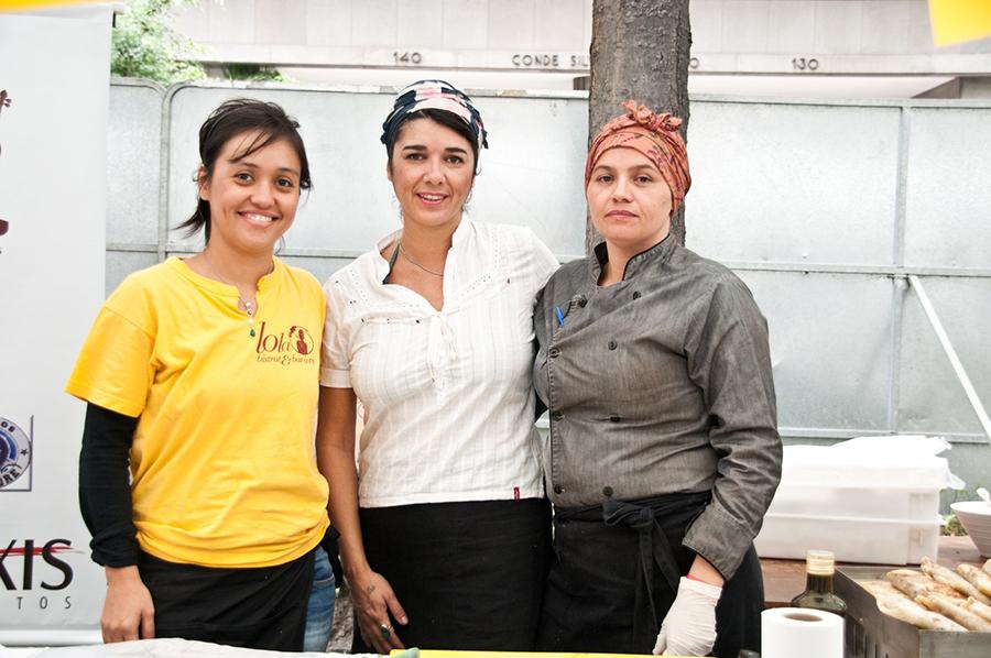 Chefs na Rua: equipe Marcelino Pan y Vino