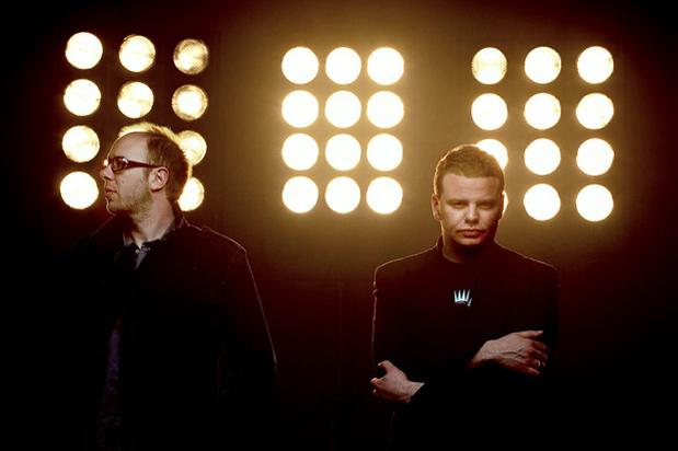 Tom Rowlands e Ed Simons, do duo eletrônico The Chemical Brothers
