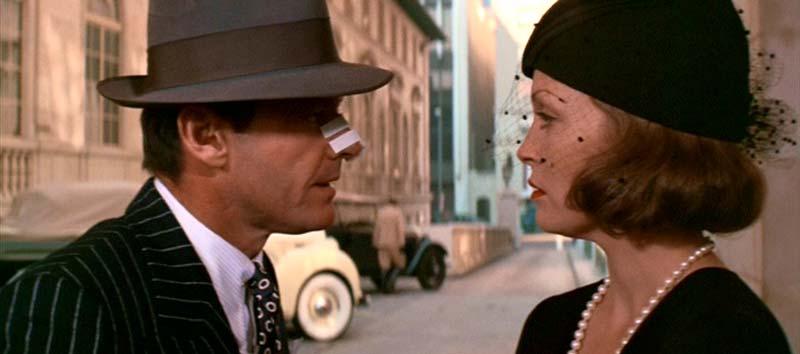 Chinatown, com Jack Nicholson e Faye Dunaway: 20, 21 e 24 de setembro