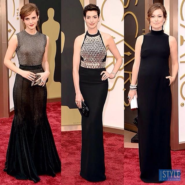 As chiquérrimas Emma Watson, Anne Hathaway e Olivia Wilde