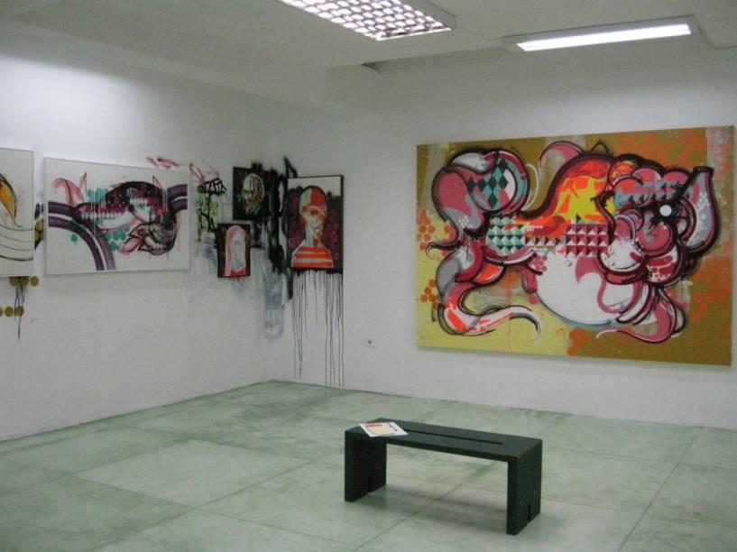 Choque Cultural: galeria dedicada à arte urbana