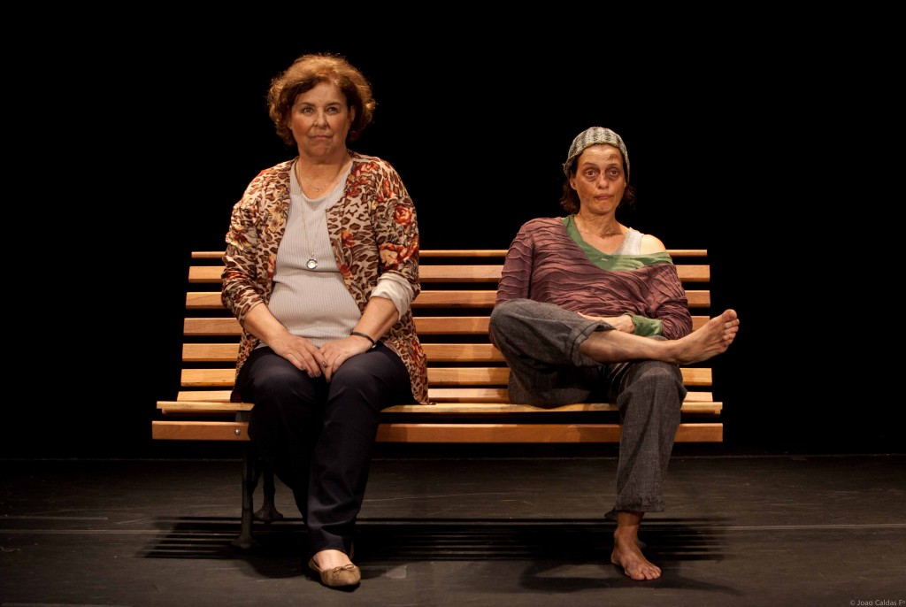 Claudia Mello e Denise Fraga remontam texto de Fauzi Arap no Teatro Eva Herz (Foto: João Caldas)